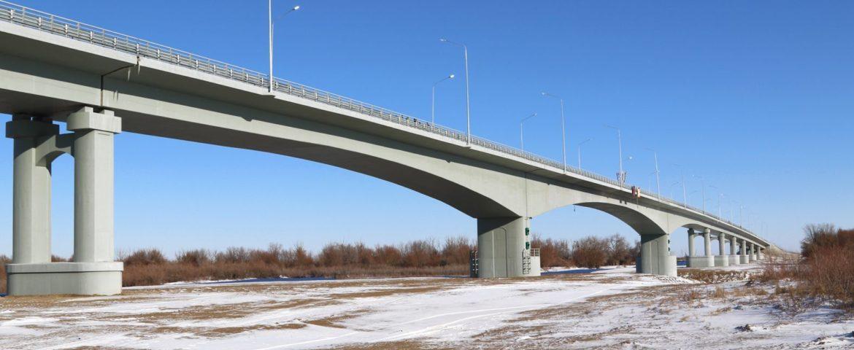 ВМахамбете открыли новый мост через Урал