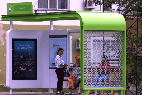 NEW BUS STOPS TO BE INSTALLED IN ATYRAU